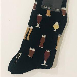 K Bell Beer Glasses Socks